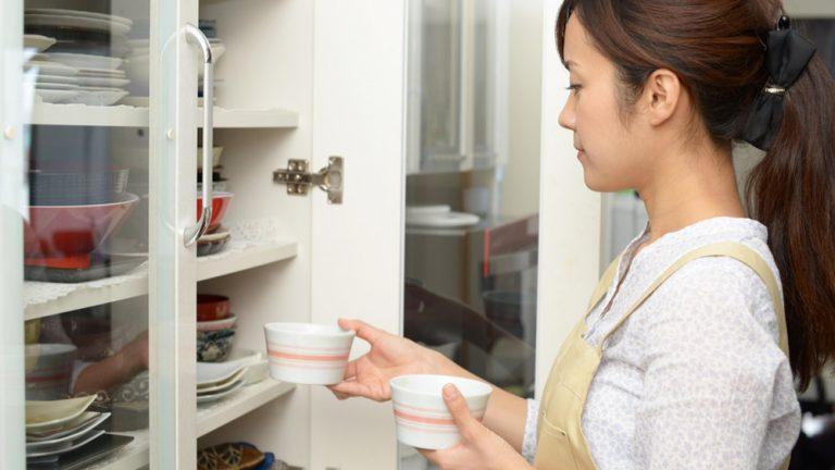 家事効率UP!食器収納のコツを覚えて楽しい食卓にしましょう
