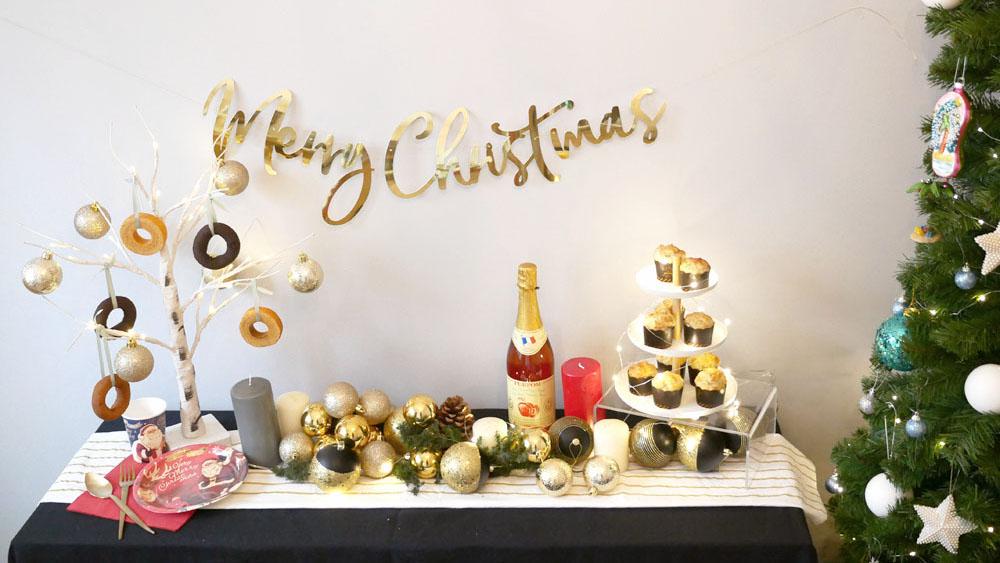 プロ仕様に見えるコツ!パーティーコーディネーターのクリスマスデコレーション