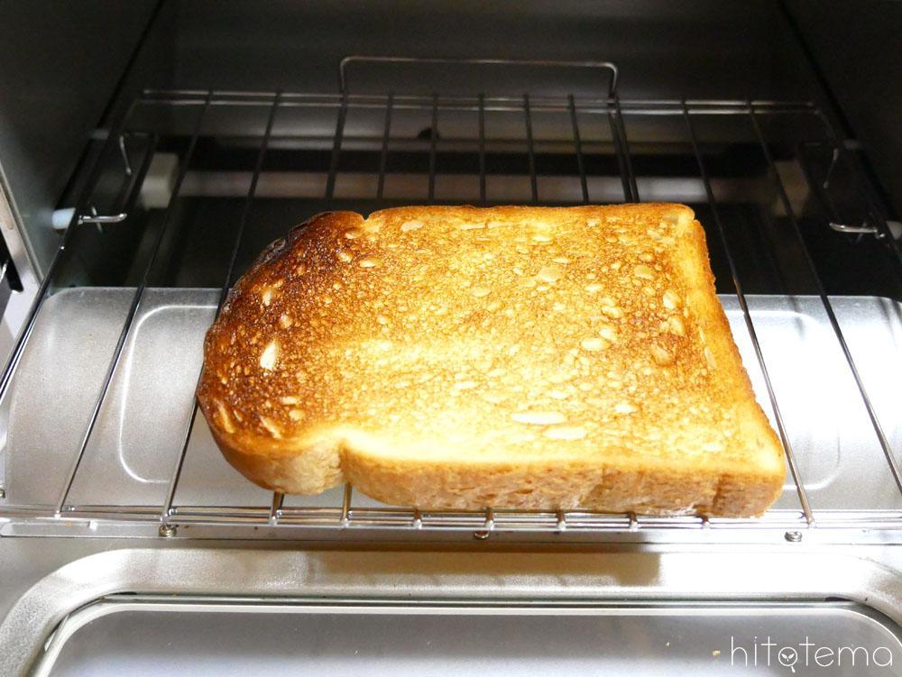 トーストがおいしく焼ける!3