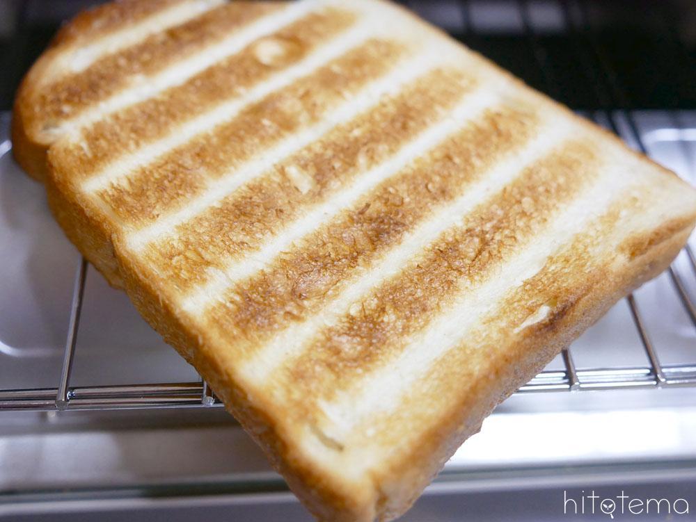 トーストがおいしく焼ける!4