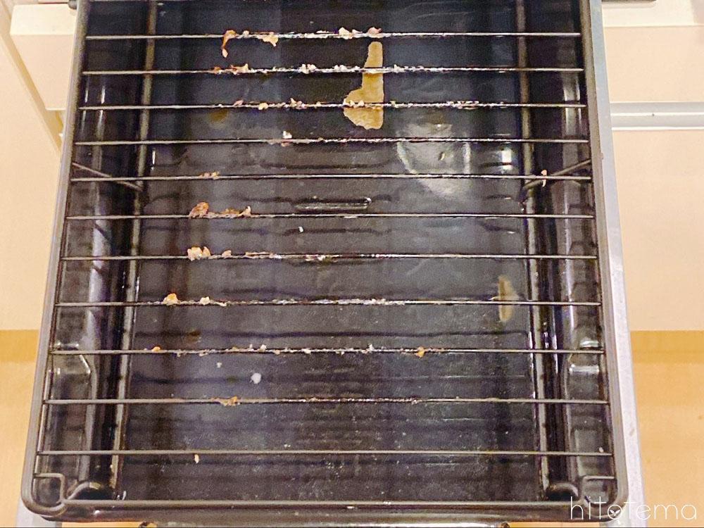 魚焼きグリルは油汚れで洗いにくいから使わなくなる