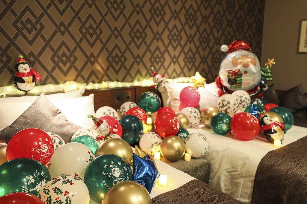 クリスマスサンタ de デコレーションルームプラン
