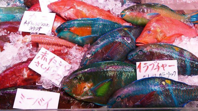 沖縄の台所「第一牧志公設市場」で選ぶ南国の味覚 2022年4月まで仮設営業中