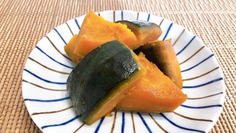 自然な甘さが優しい ほくほく食感のかぼちゃの煮物のレシピ #昭和ごはん