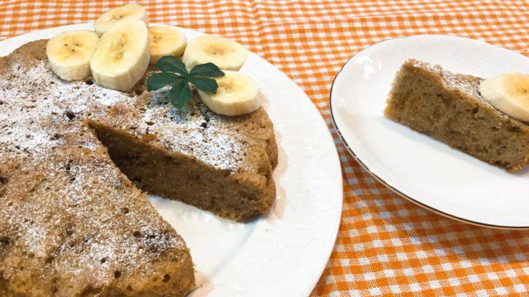 しっとり食感!黒砂糖とバナナのケーキのレシピ #子どもと作るお菓子
