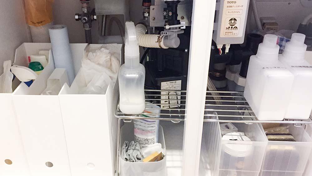 キッチンのシンク下を見直せば収納力も使いやすさもアップ!