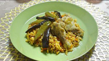 西アフリカ風炊き込みご飯!ガーナ「ジョロフライス」#世界の料理