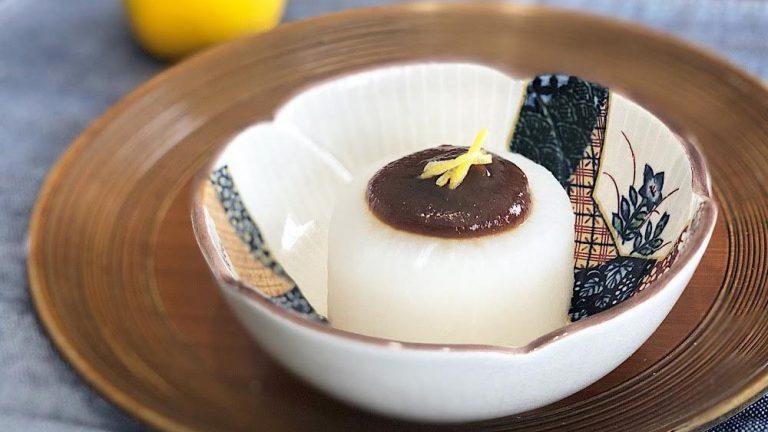 昆布のだしがじっくり染み込んだふろふき大根のレシピ #昭和ごはん