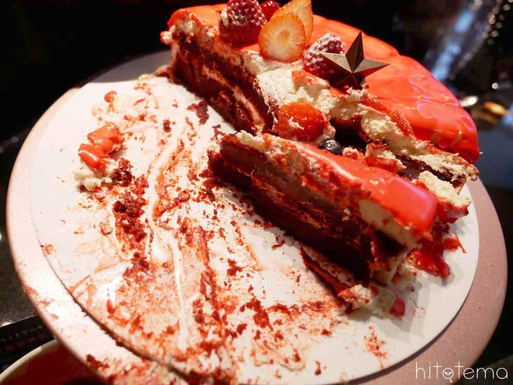 血のベルベットケーキ