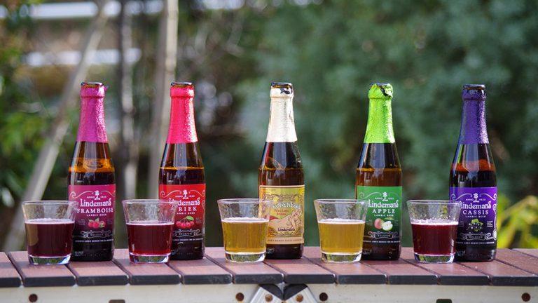 色鮮やかでキブンも上がる!お花見のお供にベルギーのフルーツビールを