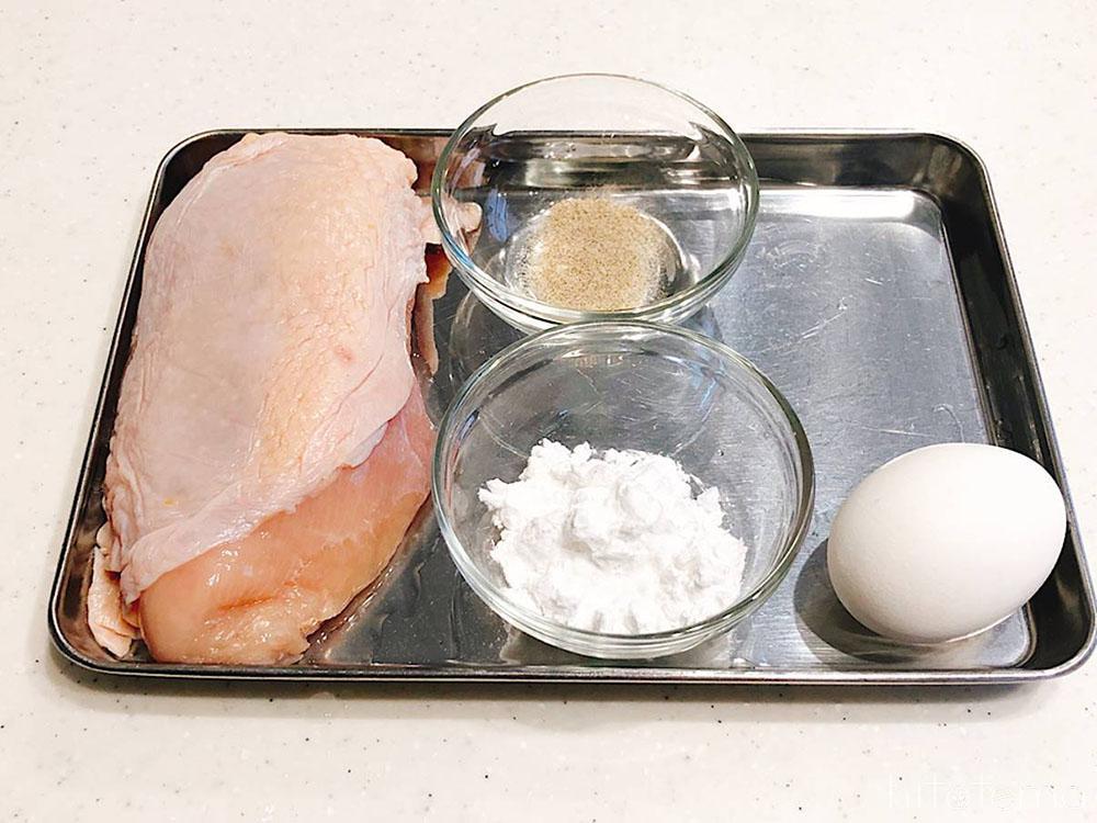 揚げ鶏の材料