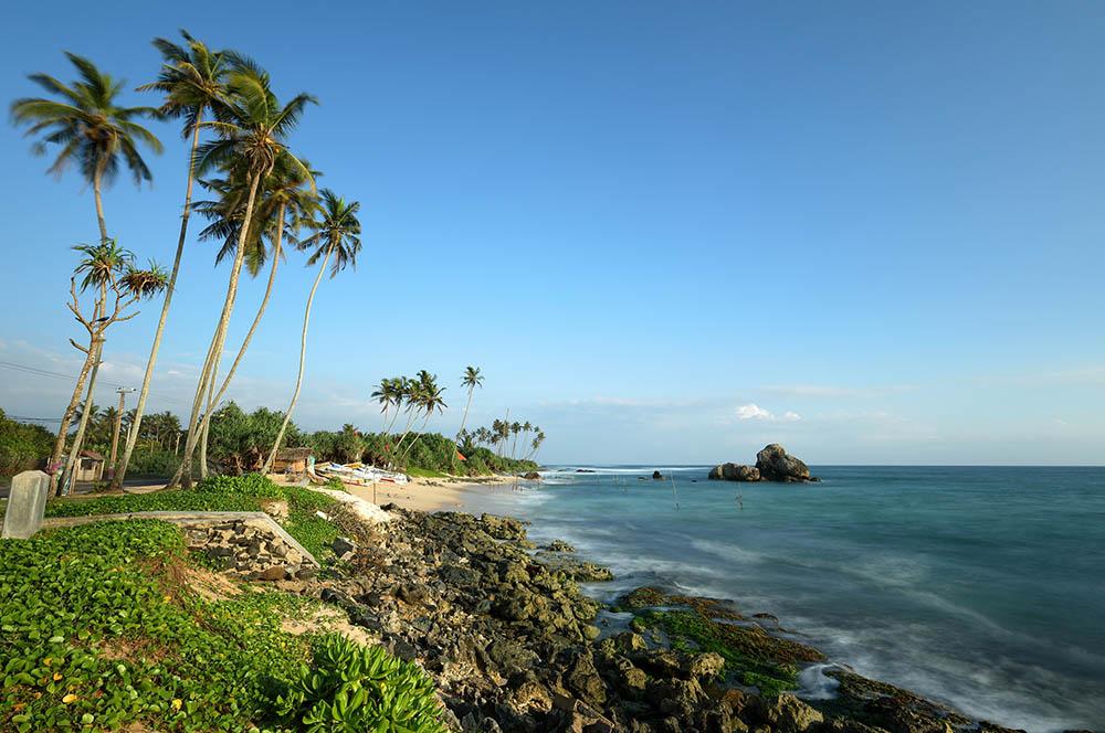 スリランカの海辺