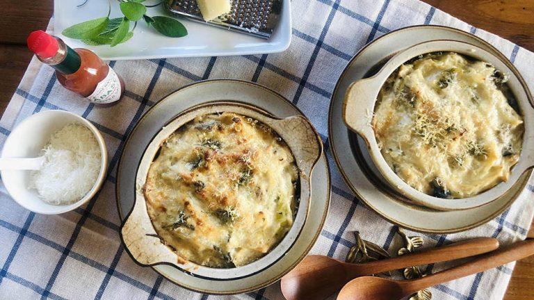 セージと乳製品は好相性!グルテンフリーの玄米ドリア #ハーブとスパイスの教科書