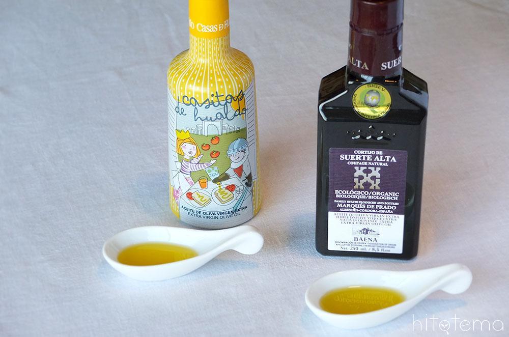 オリーブオイル2種を使ったレシピ