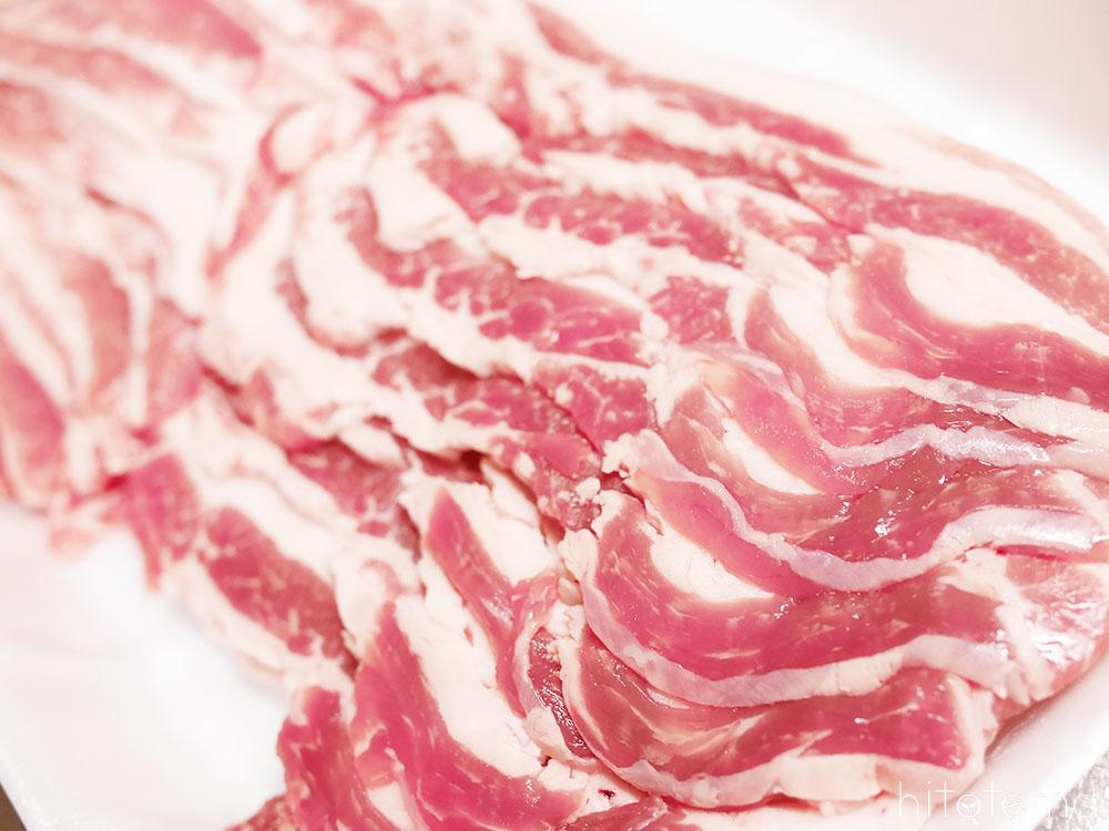 バラ肉4ミリスライス
