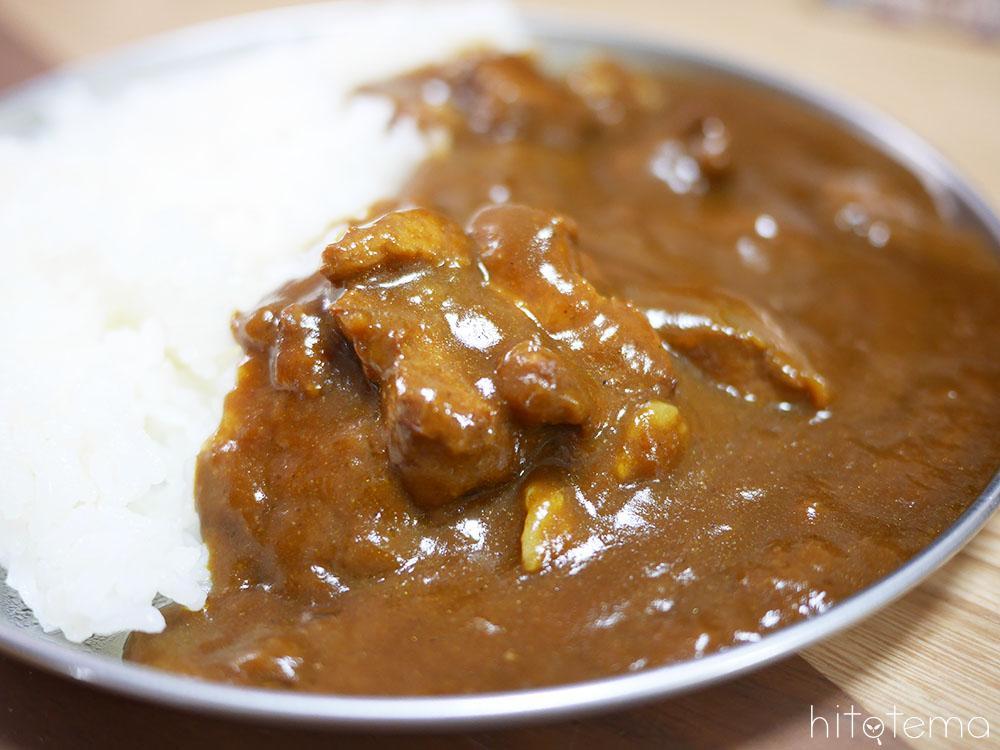 豚角煮カレーアップ
