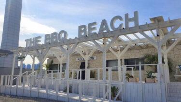 まるでビーチリゾート!東京・豊洲「THE BBQ BEACH in TOYOSU」でオシャレBBQを満喫!