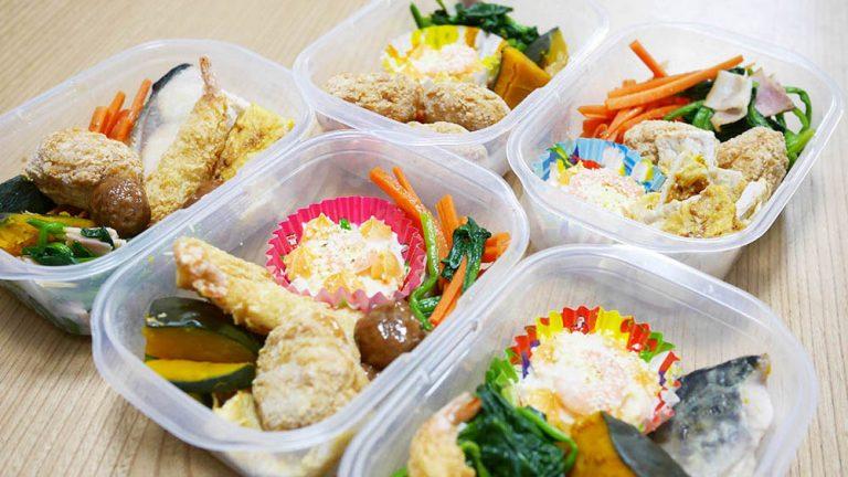 平日5日分のランチを冷凍!休校やテレワークの食事準備の負荷を軽減