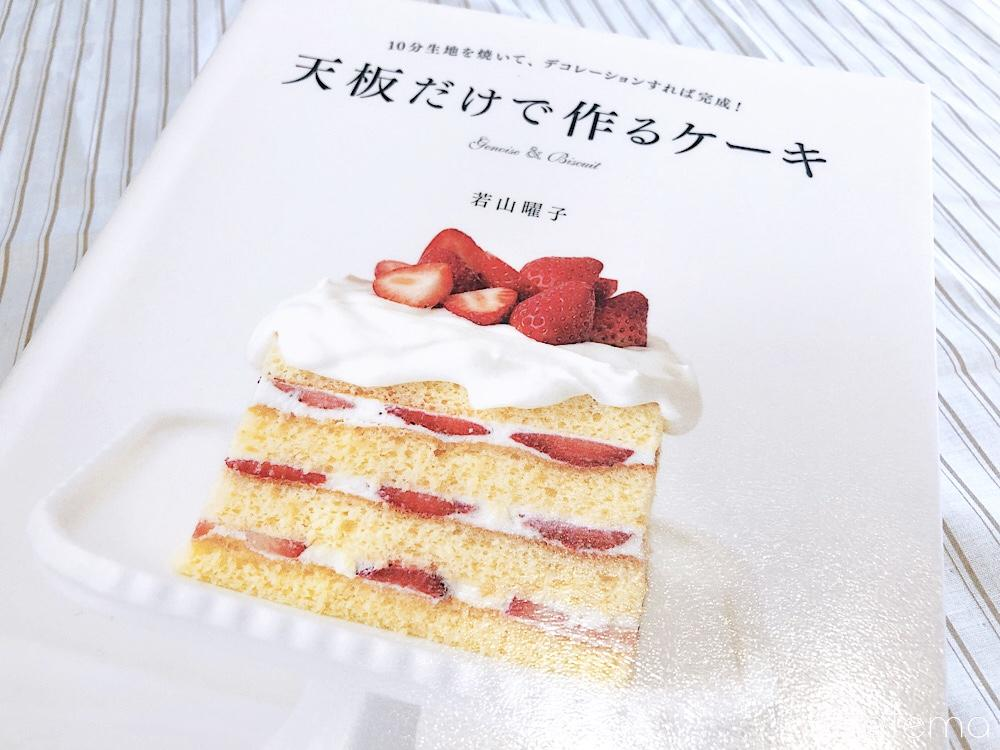 天板だけで作るケーキ表紙