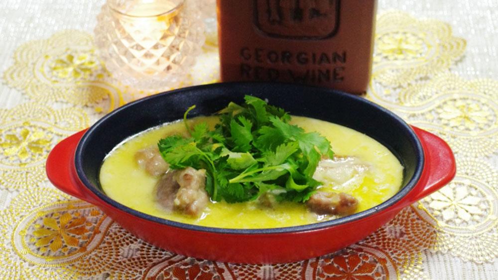 ジョージア「シュクメルリ」のレシピ!本場ならではのスパイスで作ろう #世界の料理