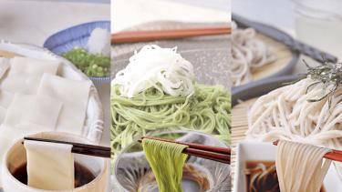 """珍しい""""夏の麺""""3種をお取り寄せ!夏バテ気味の暑い日にツルっと食べよう"""