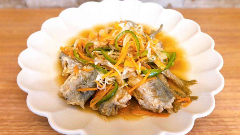 アジの南蛮漬けの基本レシピ!前日に仕込めば骨までまるごと食べられる #昭和ごはん