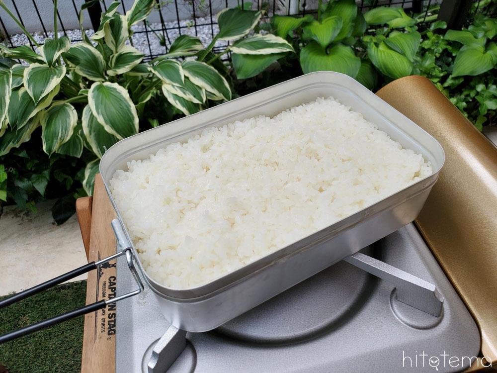 炊き メスティン 方 ご飯