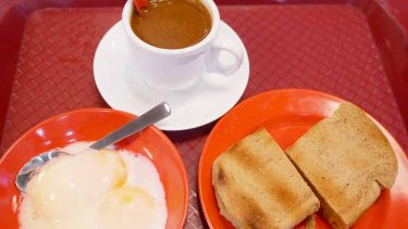 日本にも上陸!本場シンガポールのヤクンカヤトースト #旅の朝ごはん