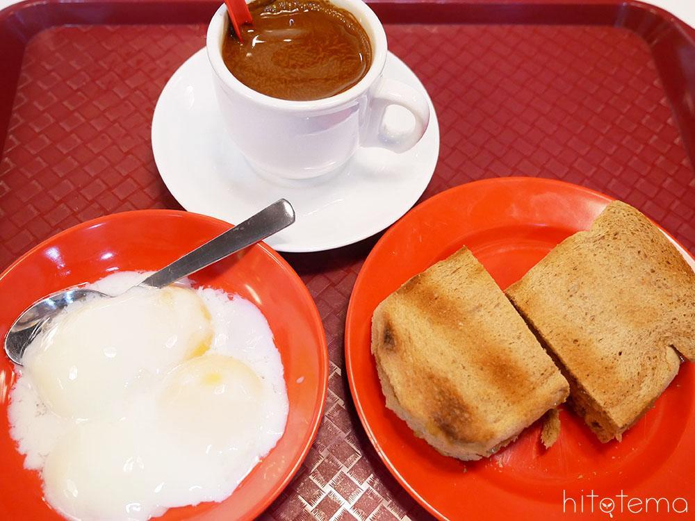 シンガポールの定番朝食