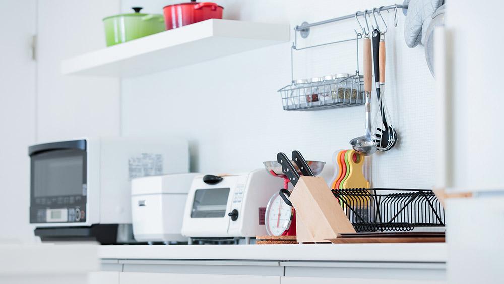 調理家電を使いやすい収納にして料理をさらに楽しく!