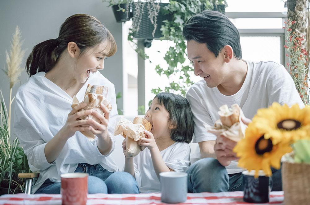 3人家族の食費はどのくらい?