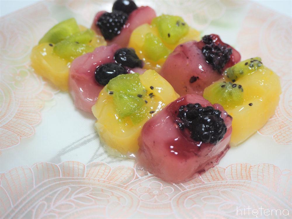 フルーツわらび餅