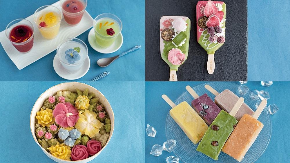 """夏にこそ食べたい!五感で楽しめる冷たい""""和""""のお菓子4選 #トラベルライターのお取り寄せ"""