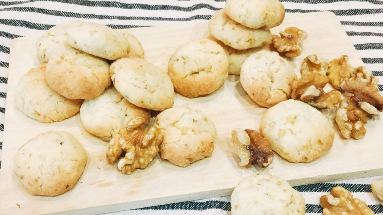 サクホロ食感!リッチな塩くるみクッキーのレシピ