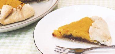 ほっくり素朴な味わい!かぼちゃと小豆の和風パイのレシピ