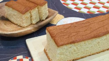 「ケーキやけました」ふんわりカステラのレシピ #絵本のおやつ
