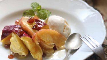 サツマイモとりんごのキャラメリゼ #ホマレ姉さんのレシピ