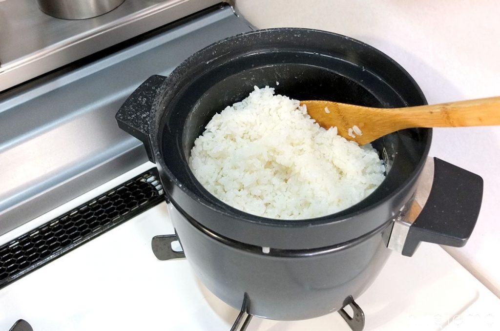素晴らしい炊きあがり