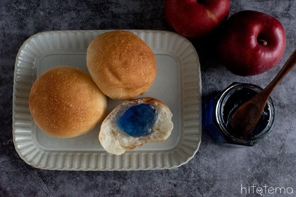 APPLE loves BLUE「青い森の天然青色りんごジャム」