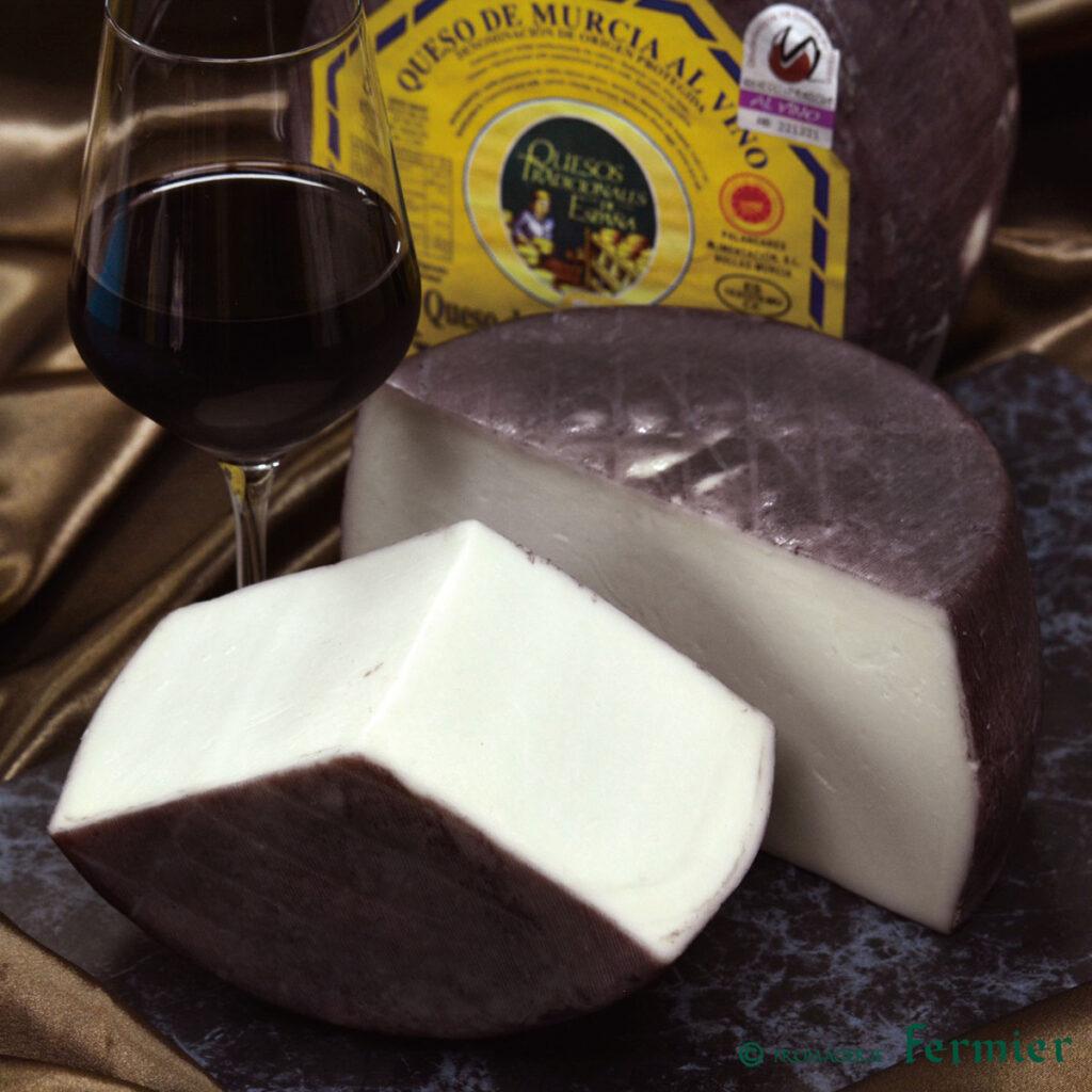 ケソデムルシアアルビノ(スペイン/山羊乳)