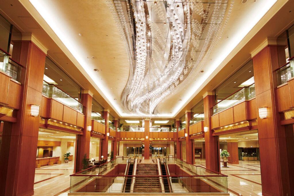 ホテルロビー(画像提供)ロイヤルパークホテル