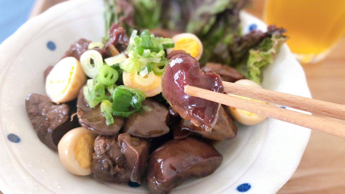 甲府鳥もつ煮】食感が楽しい!お蕎麦屋さんが考案した山梨県グルメ