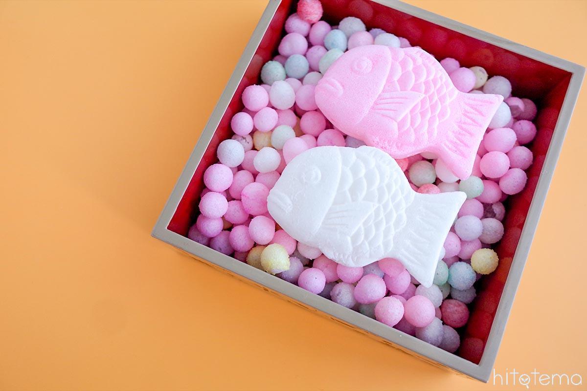 カラフルでかわいい、幸せのお菓子。菓子工房 遊々椿の「おいり」