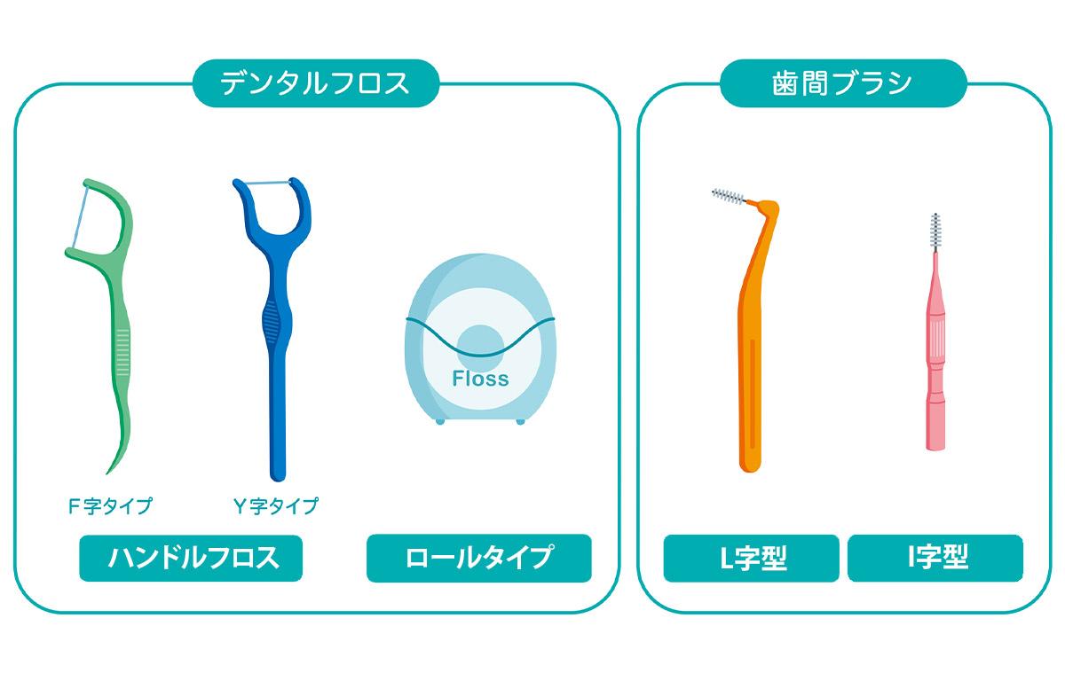 歯と歯の間を清掃する道具