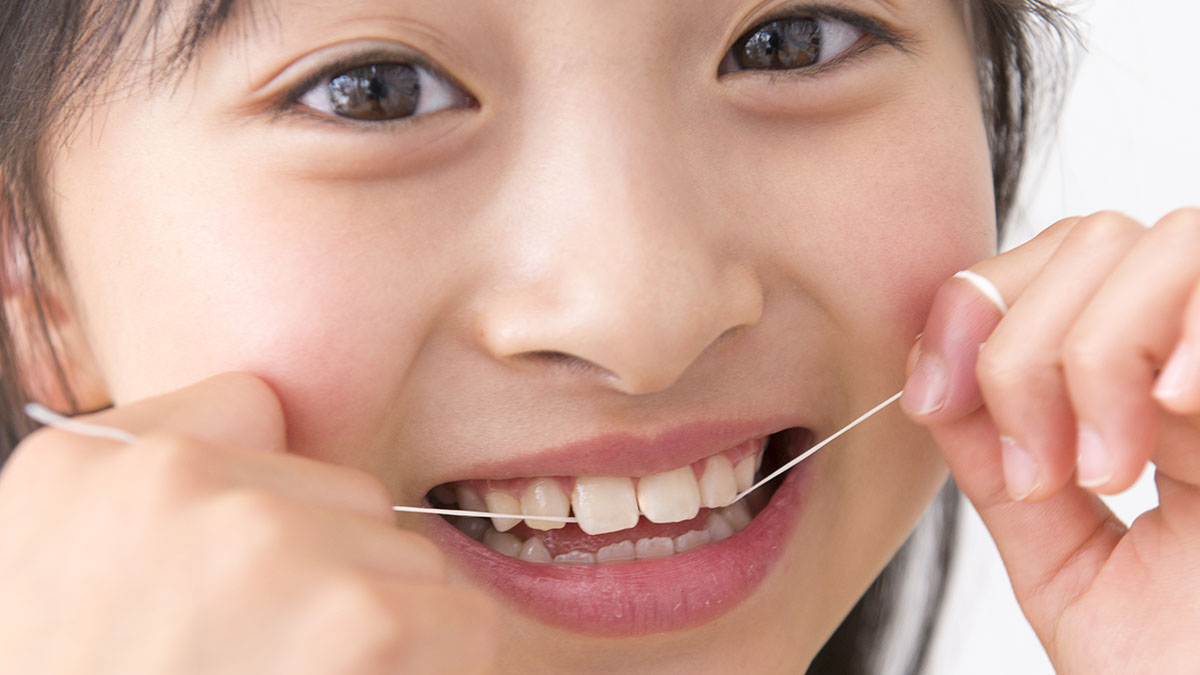 子どもの歯と歯の間のケアはいつから?#歯科衛生士の歯の教室