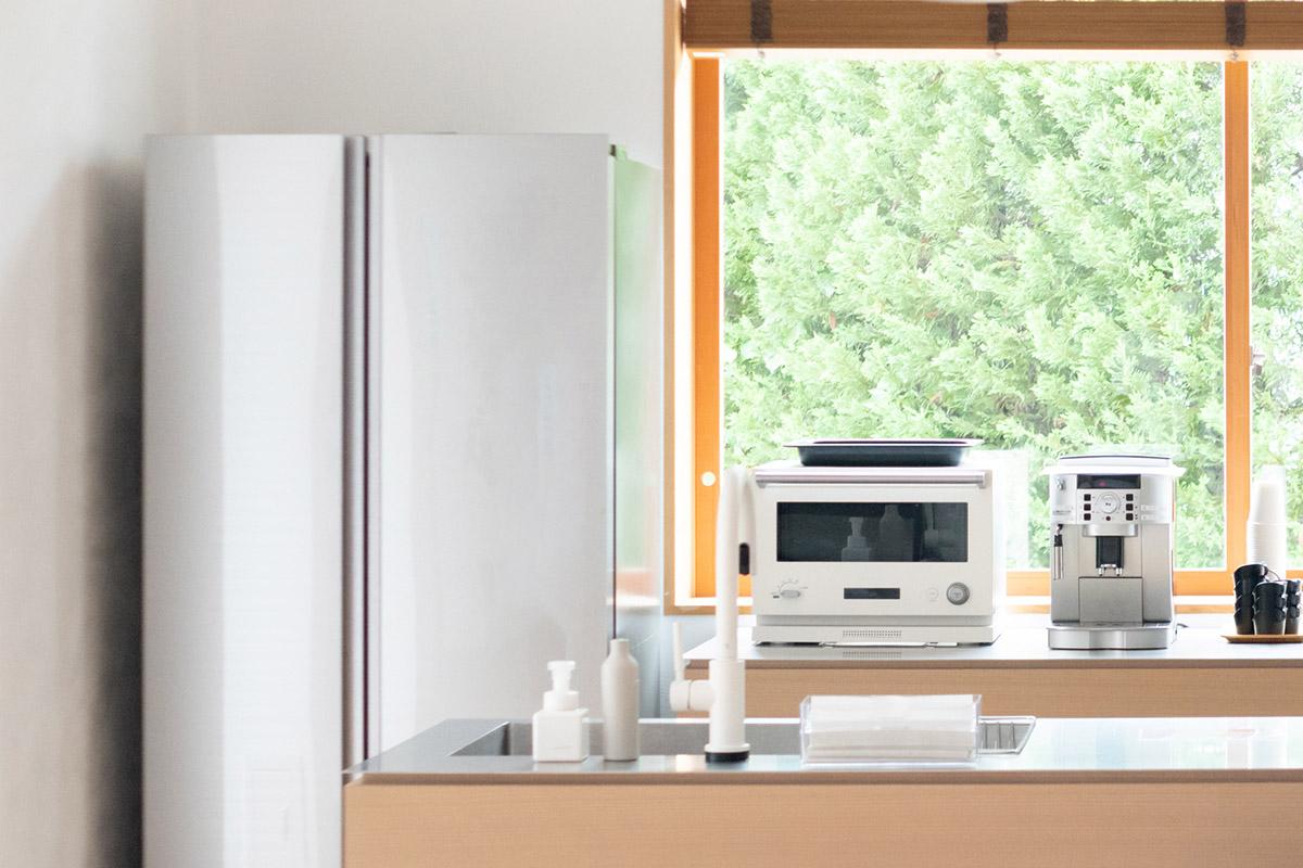 電子レンジ冷蔵庫