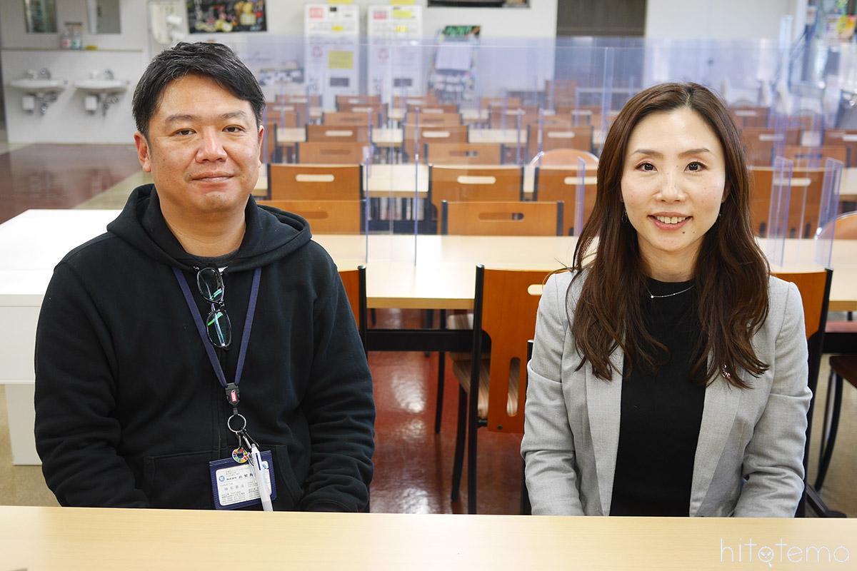 濱崎さんと榊原さん