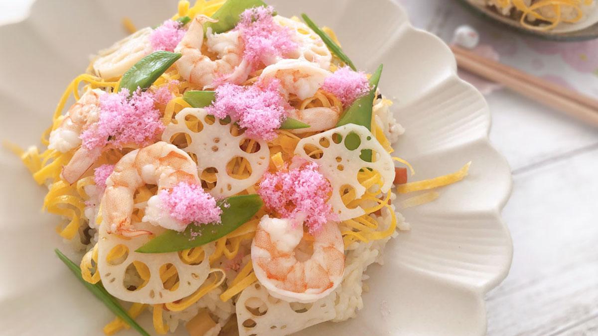 ひな祭りに作るちらし寿司のレシピ。縁起のよい食材とは? #昭和ごはん