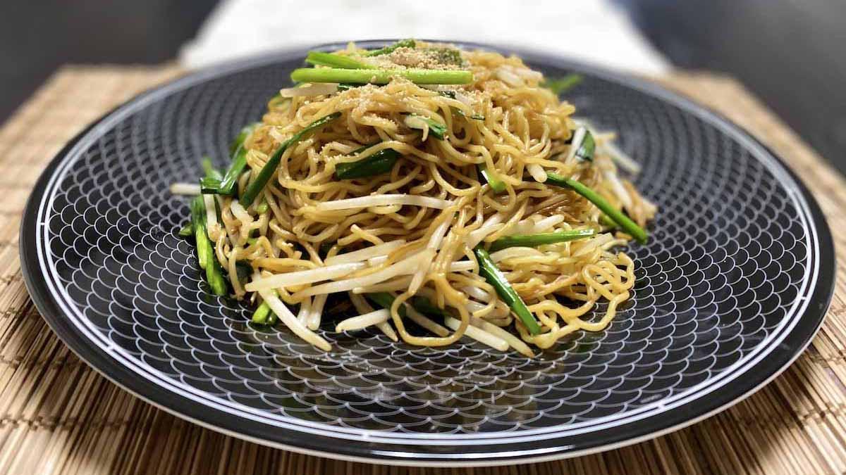 香港醤油が決め手!鼓油皇炒麵(香港風焼きそば)のレシピ #世界の料理