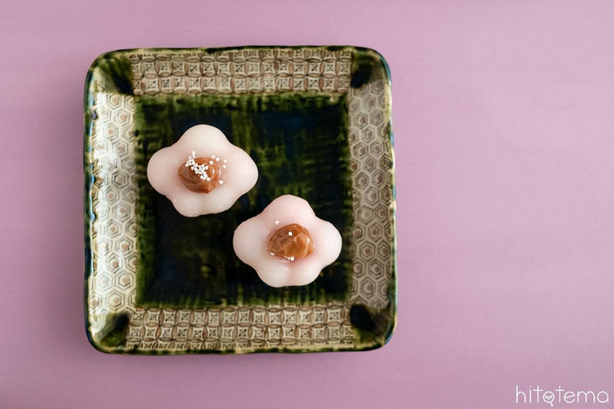 喫茶・御菓子司 つる瀬の「ふく梅」